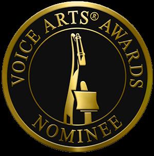 Voice Arts Awards Nominee Badge